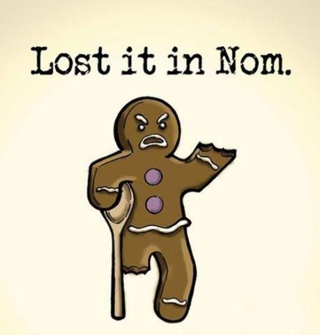 Cartoon Gingerbread
