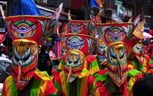 Loei Ghost Masks