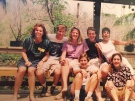 English camp gathering
