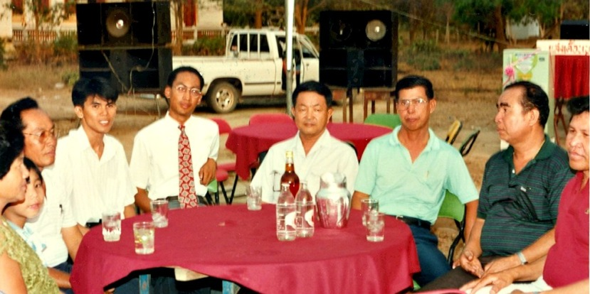 MPannell at Homestay Dinner_1992