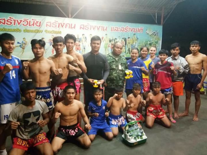 boxing crew