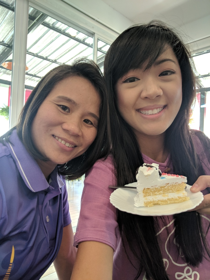 #1 cake, Pii Pueng, and I